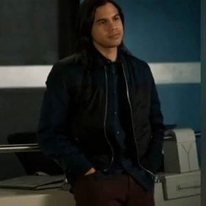 Cisco Ramon TV Series The Flash Season 07 Carlos Valdes Black Bomber Jacket