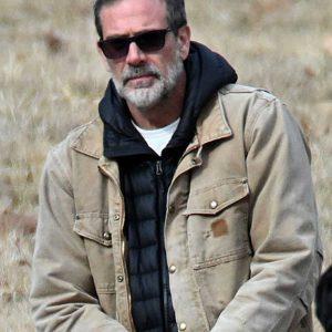 Jeffrey Dean Morgan The Unholy 2021 Gerry Fenn Cotton Jacket