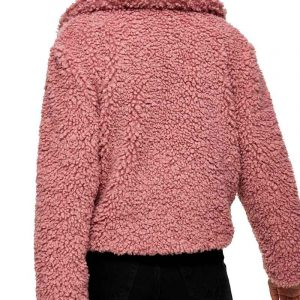 The Young and the Restless Faith Newman Pink Sherpa Jacket