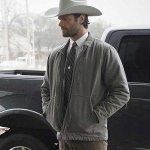 Cordell Walker TV Series Walker 2021 Jared Padalecki Grey Cotton Jacket