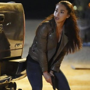 Micki Ramirez TV Series Walker 2021 Lindsey Morgan Leather Jacket