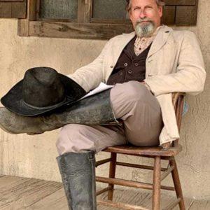 TV Series Wild West Chronicles Paul Thomas Arnold Beige Blazer Jacket