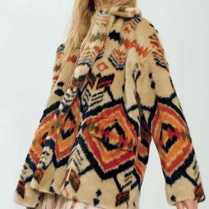 Dominique Provost-Chalkley Wynonna Earp Season 4 Waverly Earp Fur Coat