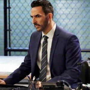 The Blacklist S08 Amir Arison Blue Coat