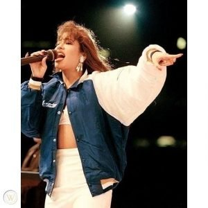 Selena Quintanilla Blue Jacket