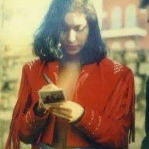 Selena Quintanilla Red Fringe Leather Jacket