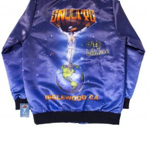 Snoop Doggs Snoopy's Bomber Printed Jacket