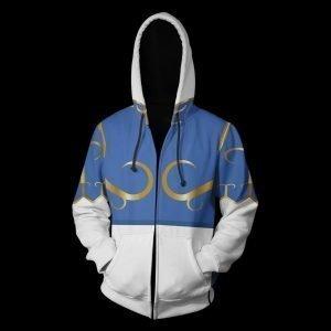Street Fighter Chun-Li Hooded Jacket