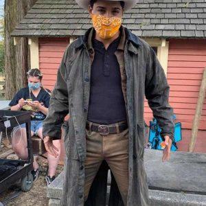 Jackson Stone A Cinderella Story Starstruck 2021 Michael Evans Behling Long Coat