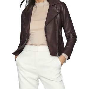 Jenny Hoyt Big Sky 2021 Motorcycle Style Katheryn Winnick Leather Jacket