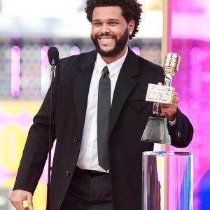 Billboard Music Awards 2021 The Weeknd Black Coat