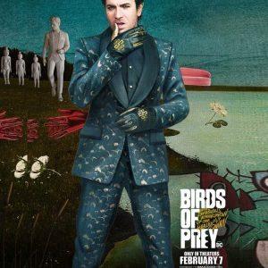 Birds Of Prey Ewan McGregor Black Mask Suit
