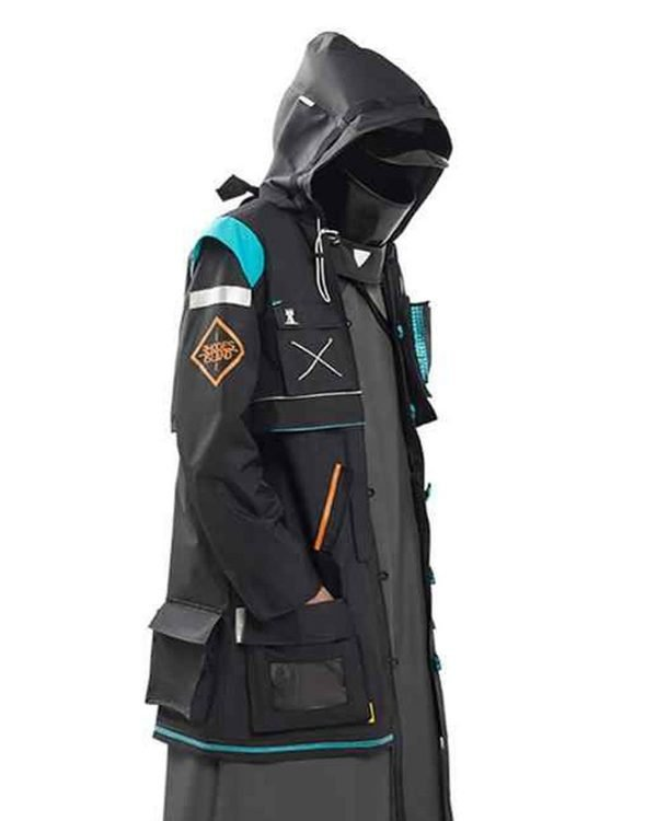 Black Cotton Arknights Doctor Hooded Coat