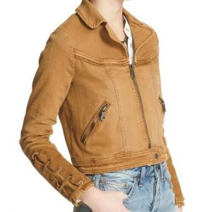 Feel Good Brenda (Rosalind March) Denim Jacket