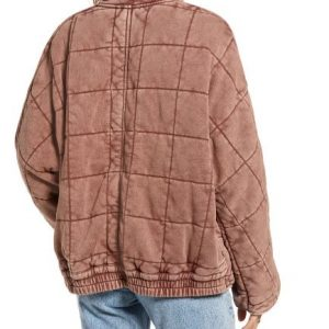 Hannah Khoury NCIS New Orleans Pink Quilted Jacket