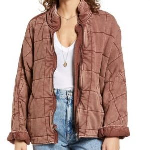 Hannah Khoury NCIS New Orleans Necar Zadegan Pink Quilted Jacket