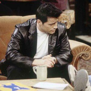Matt LeBlanc Leather Blazer FRIENDS Season 06 Joey Tribbiani Blazer
