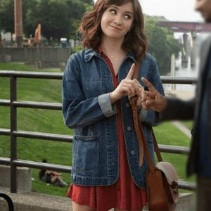 Rachel TV Series Master of None Noël Wells Blue Denim Jacket