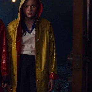 Stranger Things S04 Max Mayfield Rain Coat