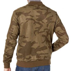 The Falcon and The Winter Soldier 2021 Anthony Mackie Camo Print Bomber Jacket