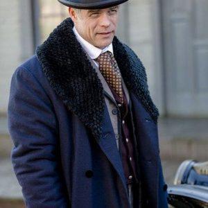 Martin Cummins When Calls The Heart Henry Gowen Fur Collar Coat