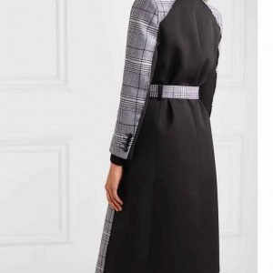 Liza Miller TV Series Younger S07 Sutton Foster Grey Checked Coat