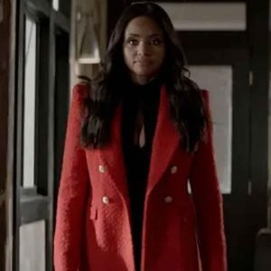 Meagan Tandy Batwoman S02 Red Double Breasted Blazer