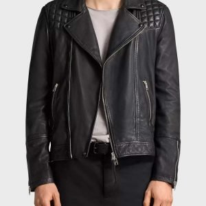 Quilted Patterns Sex Life 2021 Brad Simon Black Leather Jacket