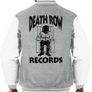 Men's Death Row Records Chair Logo Bomber Jacket