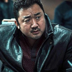 Eternals Dong-Seok Ma Black Leather Jacket