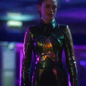 Efrat Dor TV Series The Flash S07 Mirror Master Coat