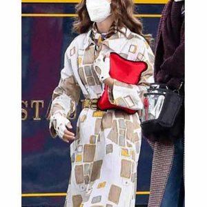 Emily In Paris S02 Lily Collins Coat Emily Cooper