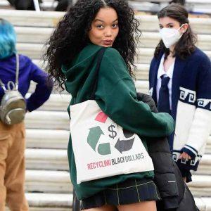 Whitney Peak Gossip Girl 2021 Green Hoodie