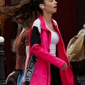 Emily Cooper 1997 Pink Jacket Emily in Paris S02 Lily Cooper Jacket