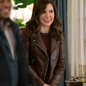 Love, Victor Veronica Leather Jacket