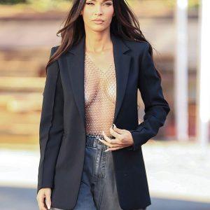 Megan Fox LA Photoshoot Black Blazer