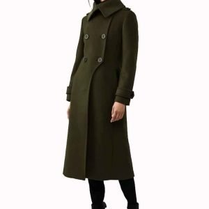 Stella Baker The Republic of Sarah Double-breasted Trench Coat
