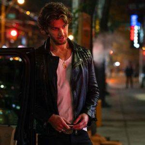 Adam Demos Sex/Life 2021 Leather Jacket