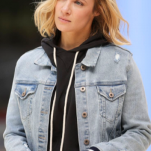 Danielle Savre TV Series Station 19 Denim Jacket