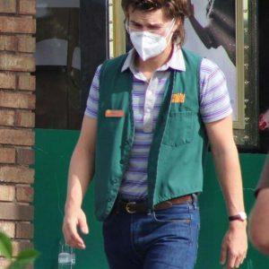 Joe Keery Stranger Things Green Cotton Vest