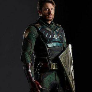 Jensen Ackles The Boys Season 3 Soldier Boy Leather Vest