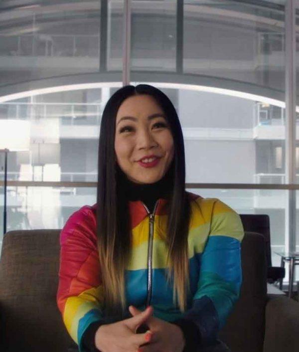 The Flash Season 07 Rainbow Raider Jacket