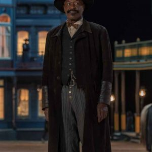 The Harder They Fall 2021 Delroy Lindo Long Coat
