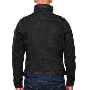 Ian Duff The Republic of Sarah 2021 Black Cotton Jacket