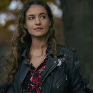 Stella Baker The Republic of Sarah Black Leather Jacket
