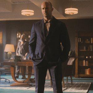Jason Statham Wrath of Man 2021 H Blue Blazer