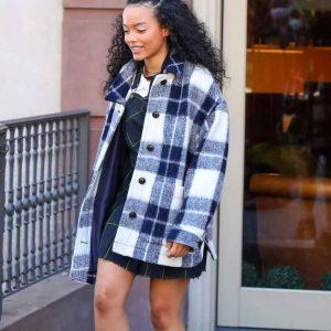 Gossip Girl Zoya Lott Flannel jacket