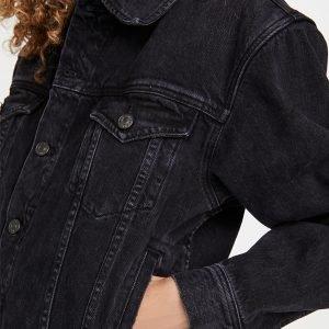 Melinda Monroe Black Denim Jacket | Virgin River Season 3 Jacket