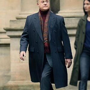 Peter Knox Double-Breasted A Discovery Of Witches Owen Teale Coat