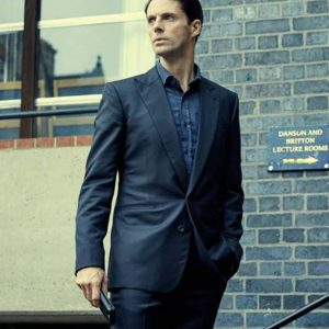 Matthew Goode A Discovery of Witches Series Blue Blazer